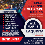 Final Expense and Medicare Advantage Training