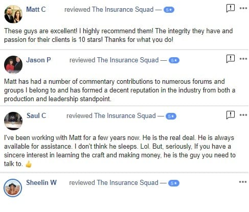 The Insurance Squad Reviews
